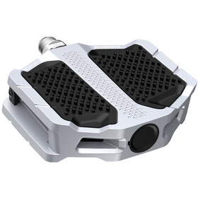 Shimano PD-EF205 Flat Pedals, silver